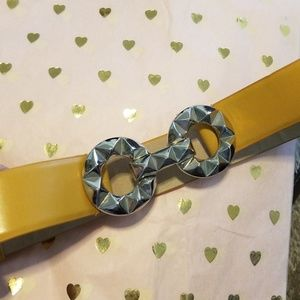 Betsey Johnson adjustable belt. Never worn